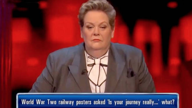 Viewers were left shocked by the question during last night's episode