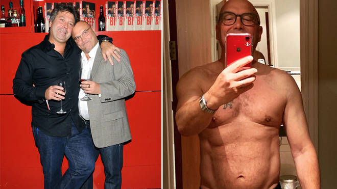 Gregg Wallace has lost four stone