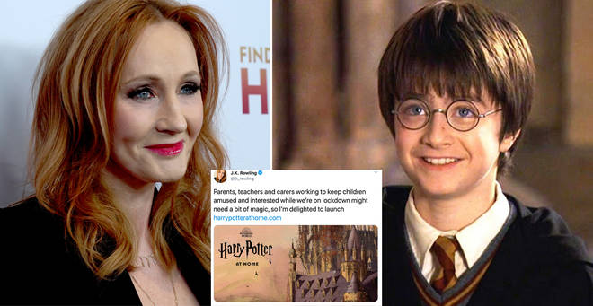 JK Rowling has announced a new online Harry Potter hub