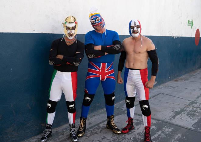 The hilarious trio are heading across America