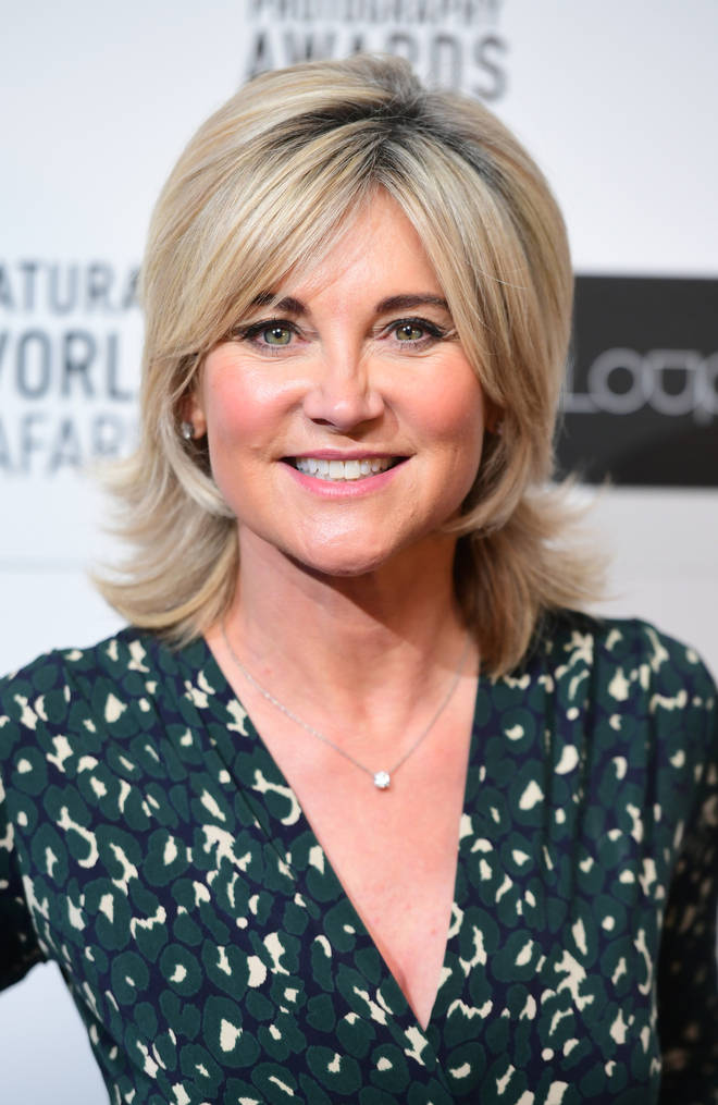 Anthea Turner will be testing her physical and mental strength on the new series