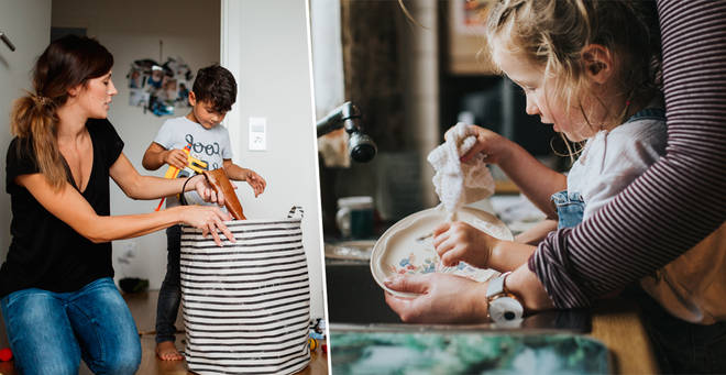 An expert has revealed when your kids should be doing chores
