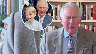 Fans spot unseen picture of Prince George in Prince Charles' office as he addresses coronavirus