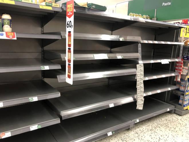 Supermarkets have been experiencing unprecedented demand during the coronavirus outbreak