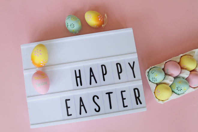 We want to share your Easter Sunday messages on Heart