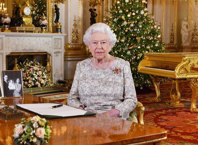 The Queen usually only addresses the UK at Christmas in her annual speech