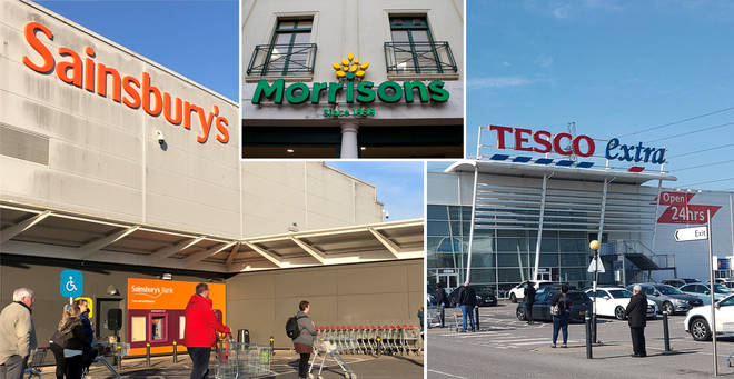 The latest supermarket opening times