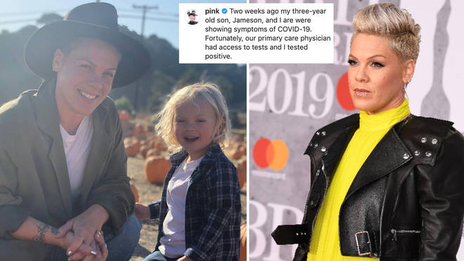 Pink has tested positive for COVID-19.