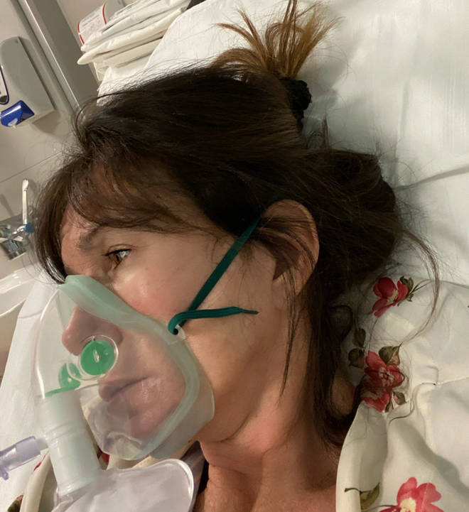 She admitted her COVID-19 symptoms made her feel like she 'wanted to die'.