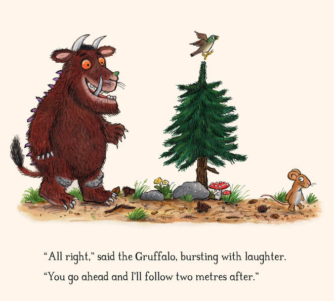 The Gruffalo has been reimagined to explain COVID-19 to kids.