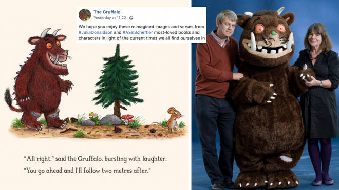 Gruffalo author and illustrator create new stories to help kids understand coronavirus.