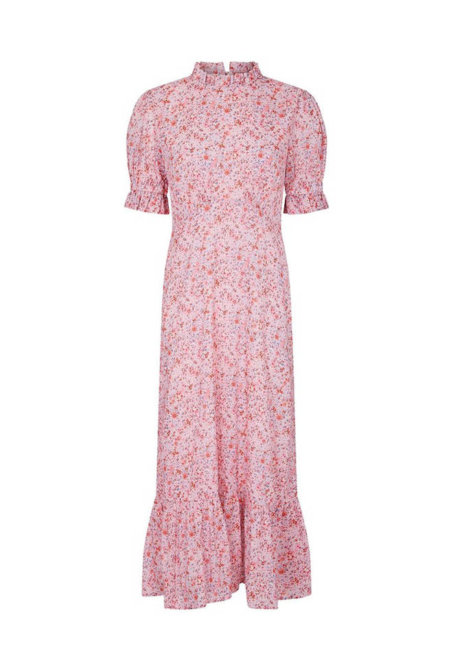Holly Willoughby's dress on This Morning today