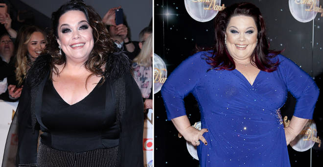 Lisa Riley has opened up about her 12-stone weight loss