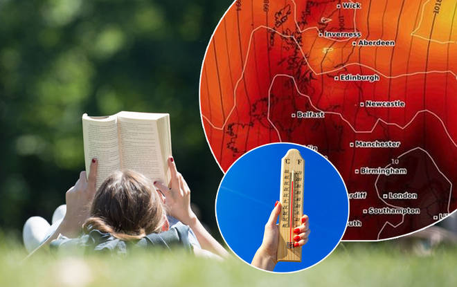 The weather is set to be an absolute scorcher