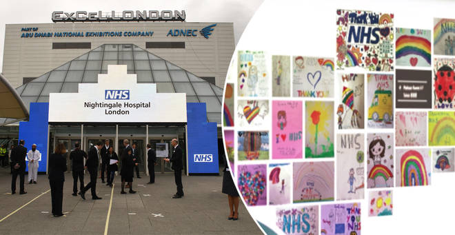 How to send your child's drawings to NHS Nightingale