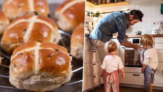 How to make hotcross buns