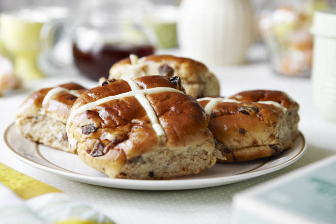 Hot cross buns are an easy Easter treat to make