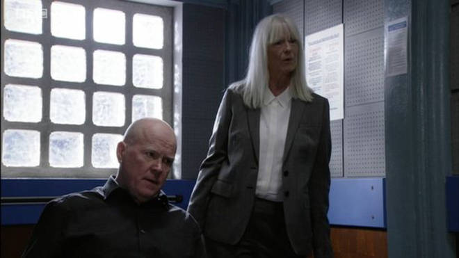 Ritchie Scott is advising Phil Mitchell
