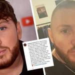 James Arthur said goodbye to his luscious locks - but it was for a good cause