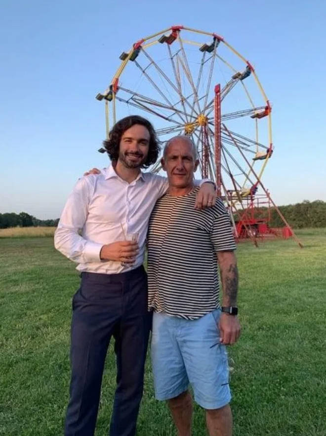 Joe Wicks has a close relationship with his dad