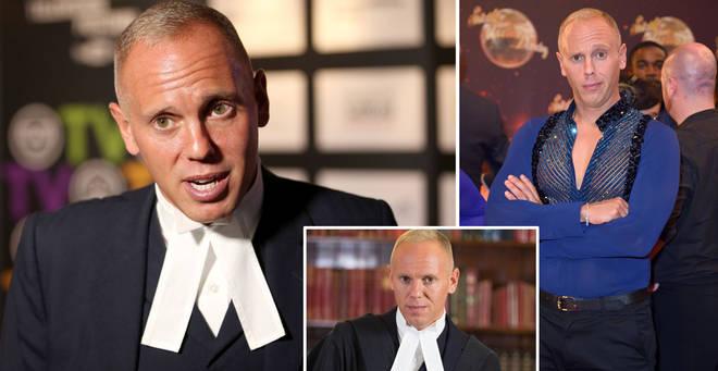 Judge Rinder is on Celebrity Bake Off