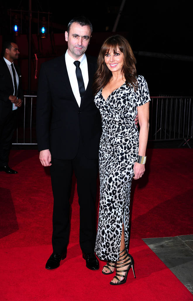 Carol Vorderman and her ex boyfriend Graham Duffy