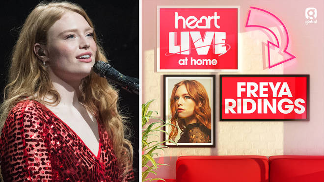 Freya Ridings performed live for Heart listeners