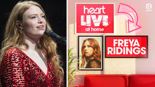 Freya Ridings will be performing live for Heart listeners tonight at 8pm