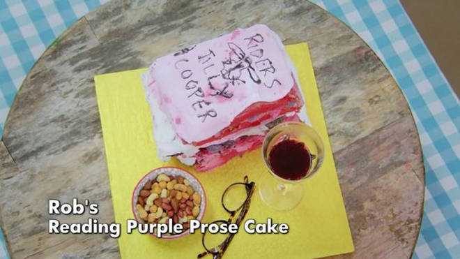 Judge Rinder's cake was called a 'mess'