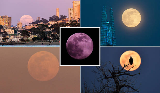 The Super Pink Moon was a stunning sight to see for millions across the world