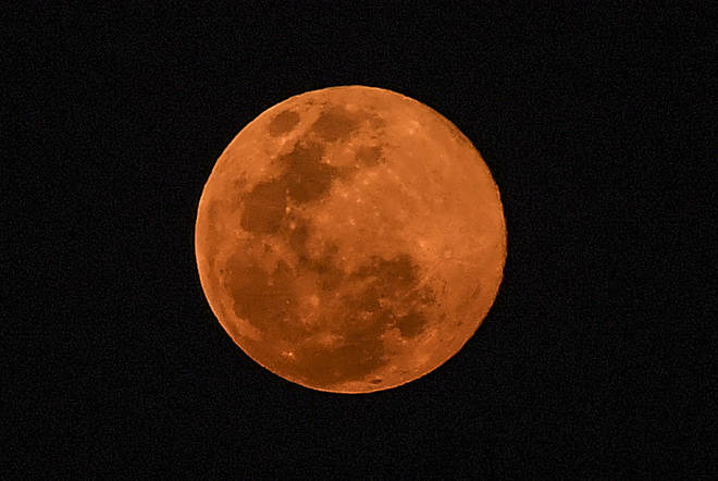 The moon was the biggest and brightest it will be all year last night as it reached it's closest point to the Earth
