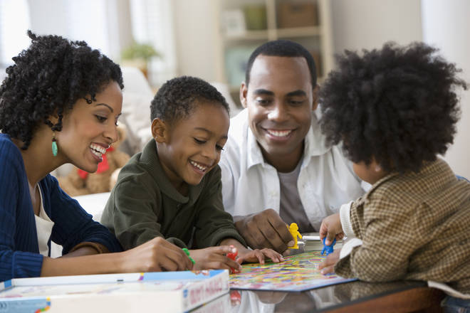 Play board games with your little ones