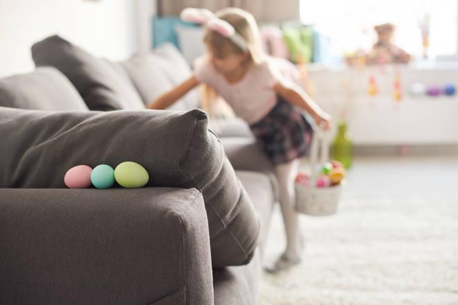 Set up an Easter Egg hunt for your kids