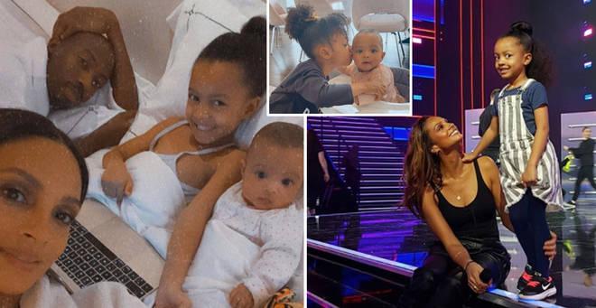 Alesha Dixon has two children
