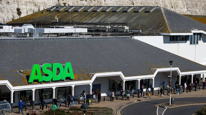 Asda do not have limits on Easter egg-buying