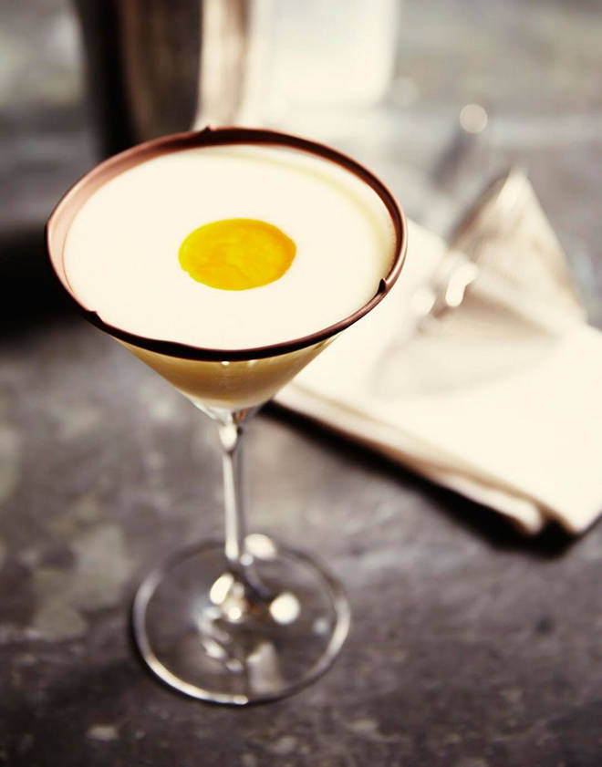 This gorgeous cocktail was created by the Waitrose cookery school