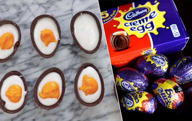 You can create your own Creme Eggs easily from home