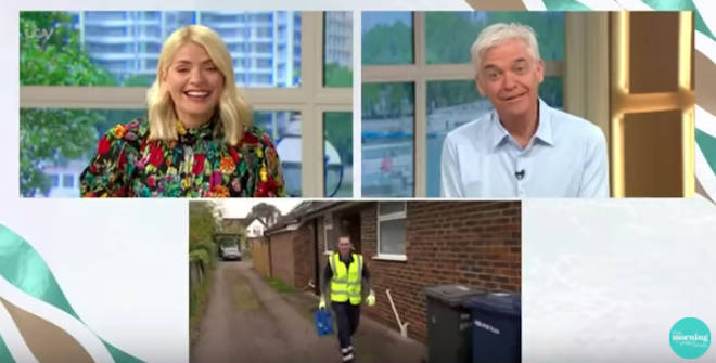 This Morning's 'unsung hero' segment descended into chaos