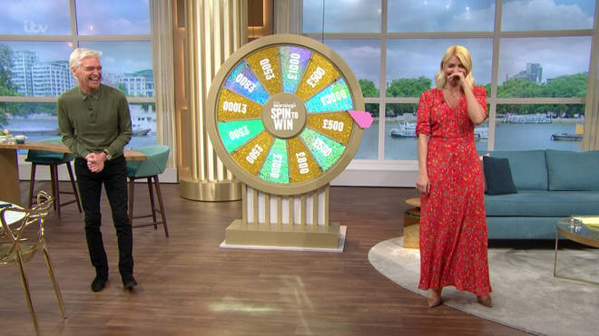 Holly Willoughby and Phillip Schofield were left in hysterics