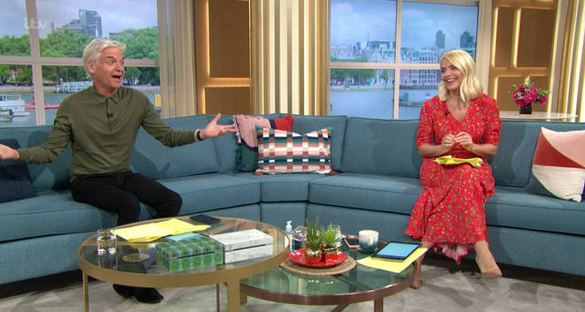 Phillip Schofield laughed there's 'no one in the studio to sack'