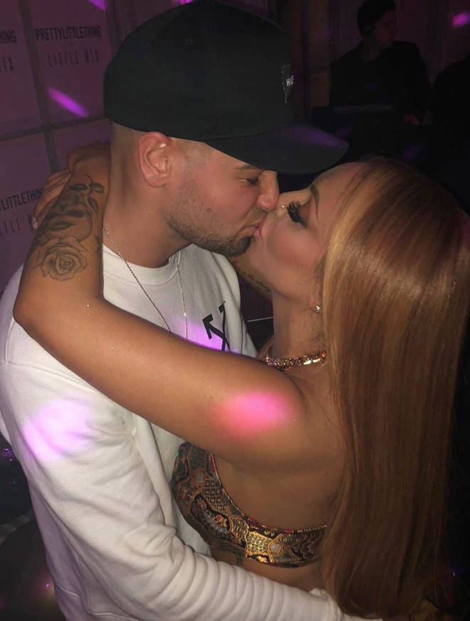 Chris Hughes and Jesy Nelson went public with their romance about a year ago