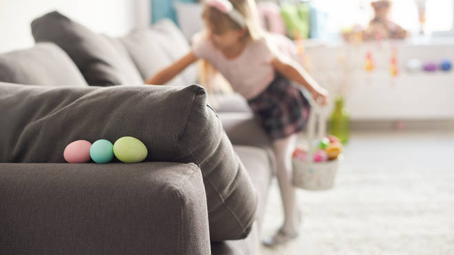 Fill your Easter eggs with activities for the children to make the games last longer