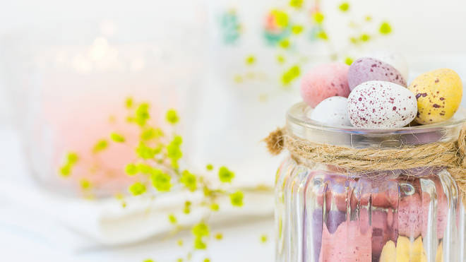 Use mini eggs in the cake and on top for the ultimate Easter treat