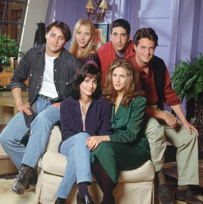 Courteney, Matt, Lisa, David, Matt and Jen reunited on Zoom.