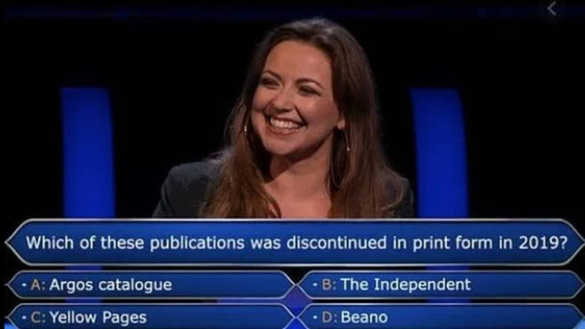 Mark Labbett wasn't sure of the answer to the £32,000 question