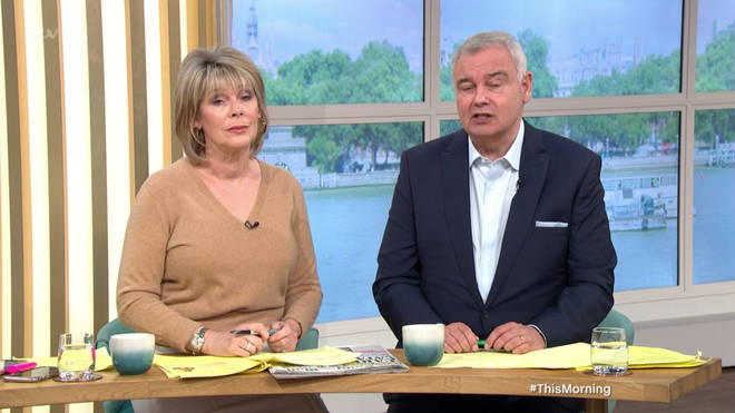 Eamonn clarified his comments on This Morning today