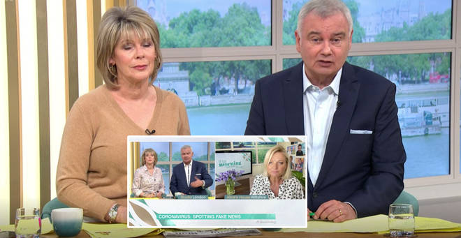 Eamonn Holmes has clarified his comments