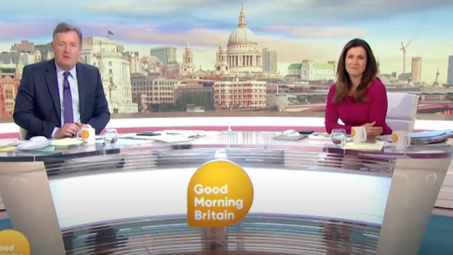 Carrie appeared alongside another 99-year-old coronavirus surviver, Tom, on Good Morning Britain