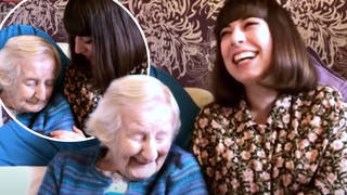 """Carrie Pollock, 99, told Piers Morgan and Susanna Reid she was """"determined"""" to beat the virus."""