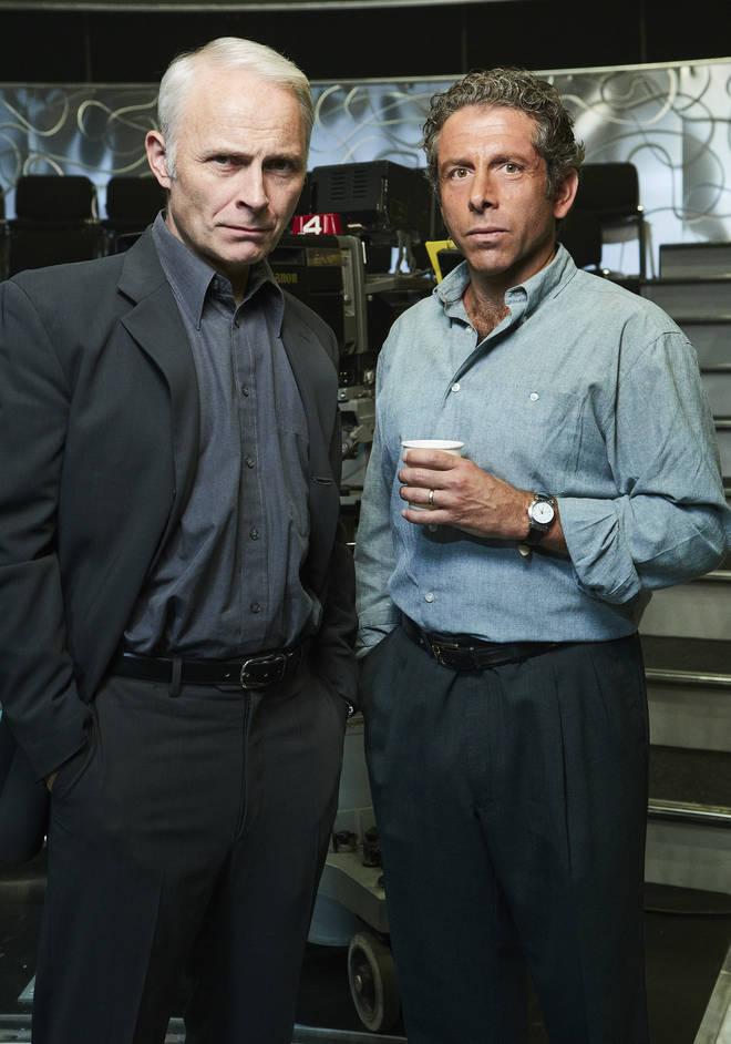 Mark Bonnar and Elliott Levey as Paul Smith and David Briggs